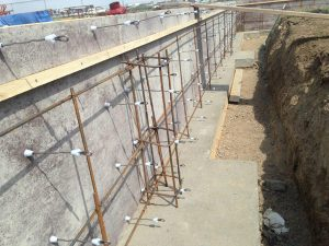 concrete and rebar
