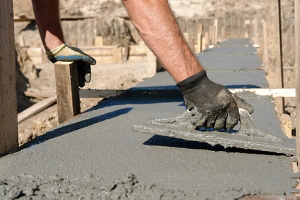 Concrete mix spread